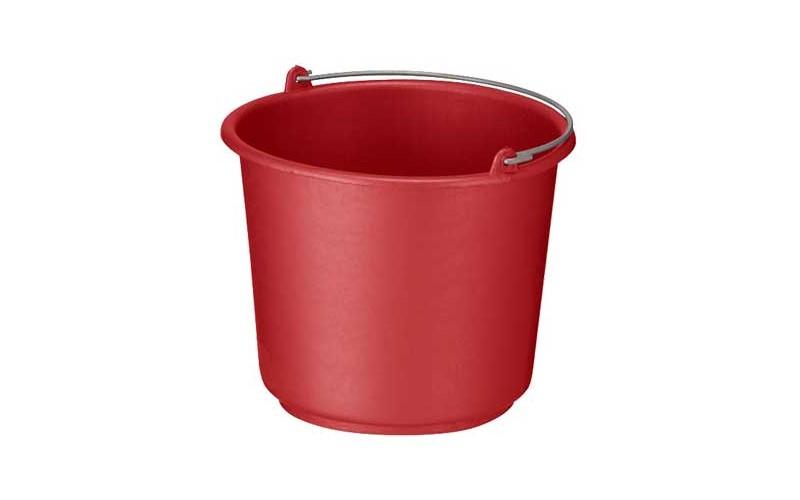 Stabiler Eimer 12 L - Rot