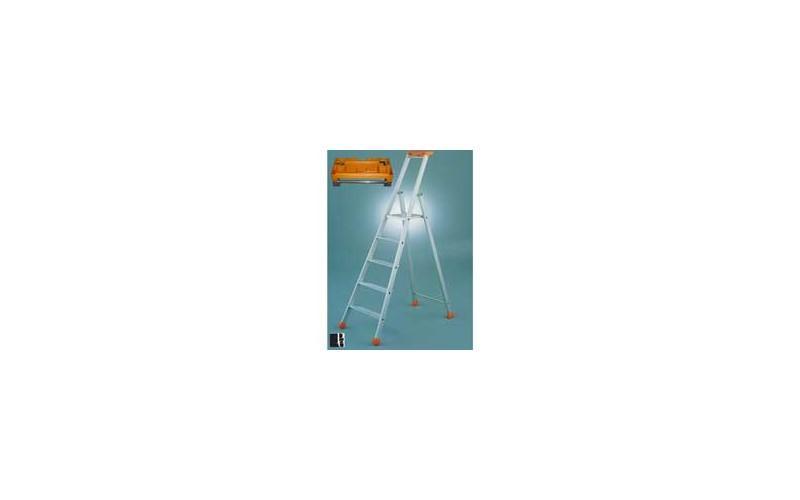 Trittleiter industriel PRO 4 + 1 Stufen