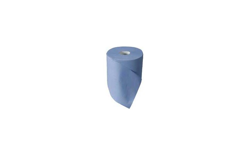 Bobine 23x35cm 2 plis 350m - 2 rouleaux bleu