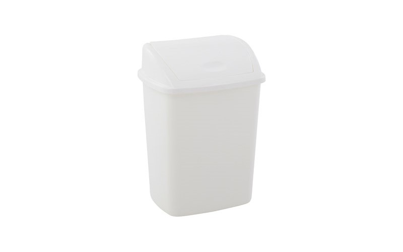 Abfallbehälter 15 Liter - Weiss