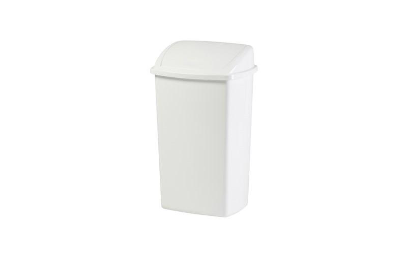 Abfallbehälter 50 Liter - Weiss