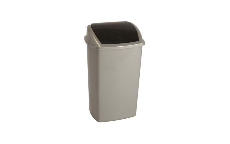 Abfallbehälter 50 Liter - Grau