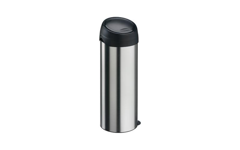 Runder Abfallbehälter mit Touchdeckel, 60 Liter