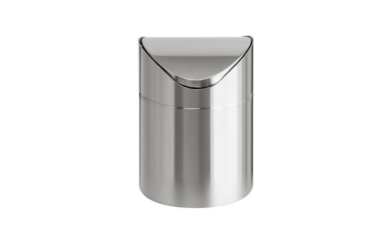 Tisch Abfallbehälter aus Edelstahl - 1,5 Liter
