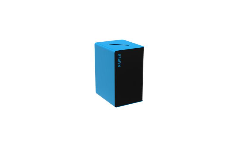 Abfallbehälter CUBATRI PMC Blau - 90 L