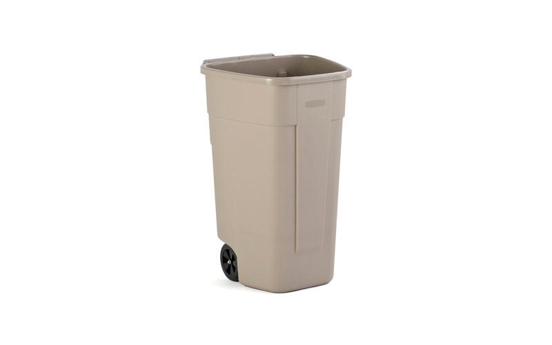Container mit Räder o/Deckel - 100 L
