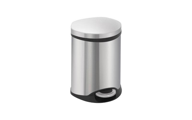 Shell Bin - Inox matt - 6 Liter, EKO