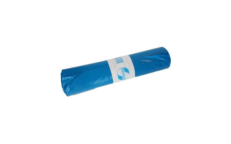 Afvalzakken Blauw PREMIUM 70x110 - roll van 25 st.