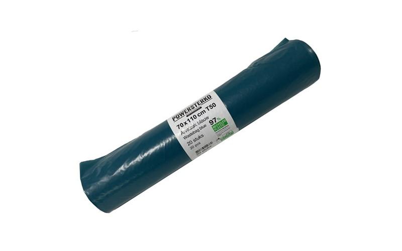 Müllsack Blau 70x110 - LD - 25 st.