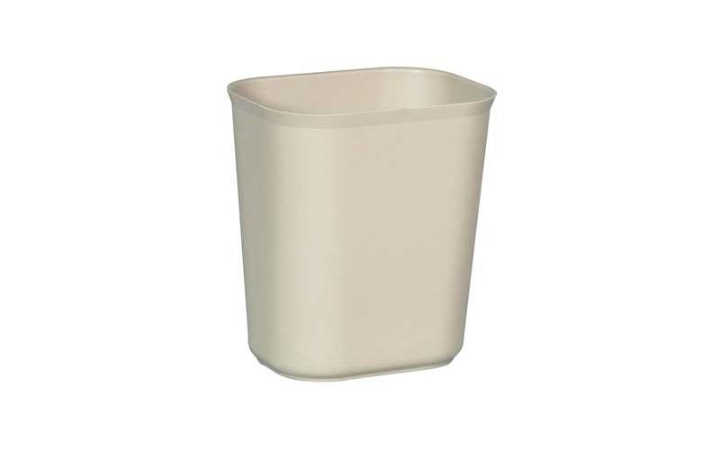 Selbstlöschender Papierkorb 13 L - beige
