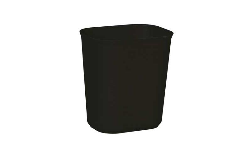 Selbstlöschender Papierkorb 13 L - schwarz
