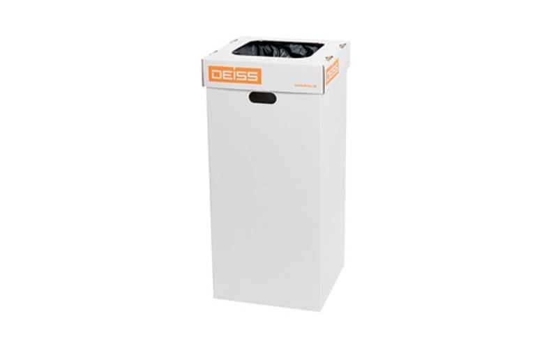 Papierbak van gerecycl. karton - zonder decksel
