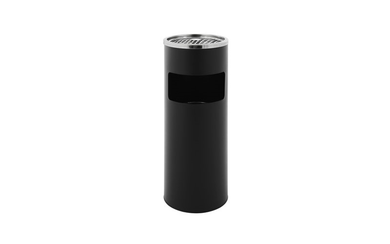 Runder Ascher-Papierkorb - 12,5 Liter