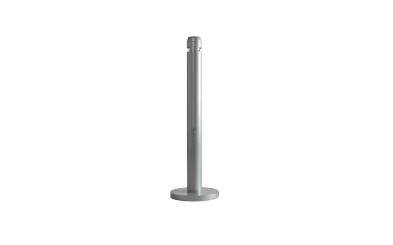 Smokers' Pole, Rubbermaid zilver