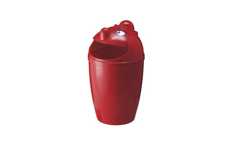 Abfallsammler mit Gesicht - 75 Liter