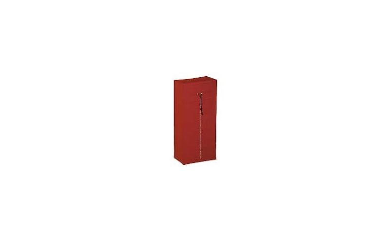 Kunststoffsack rot + zip - 120 L