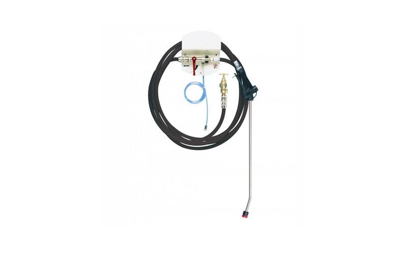 Spray Zentrale 1 Produkt 10 m Schlauch und Lanze