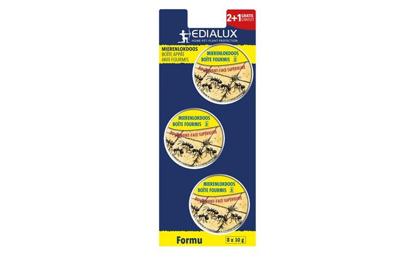Boîte anti-fourmis - 3 pces