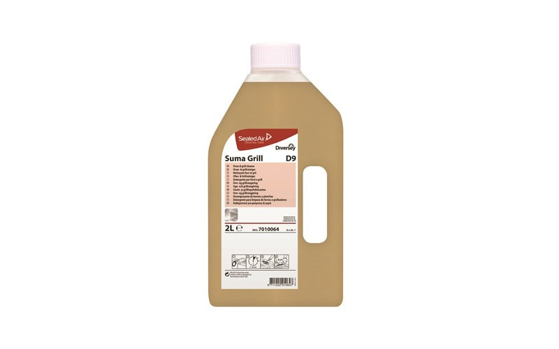 Suma Grill D9 - 6 x 2 L