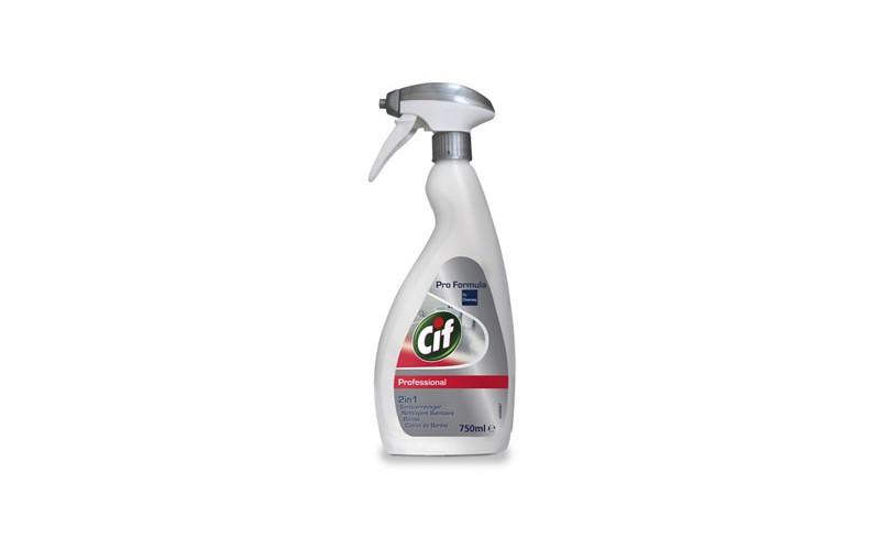 Cif Professional Sanitär 2 in 1 - 6 x 750 ML