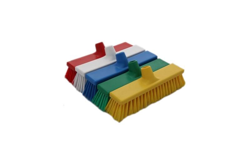 Besen weich HACCP mit Stielhalter - 50 cm Gelb