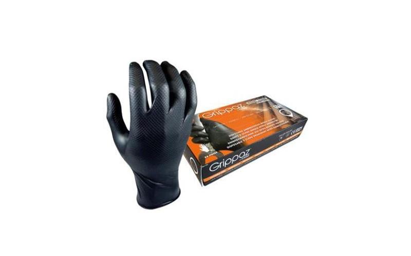 Handschuhe Nitryl Grippaz 50 St. - XL