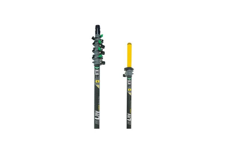 Erweiterungsstange Karbon - 6,63 m - 4 Elemente