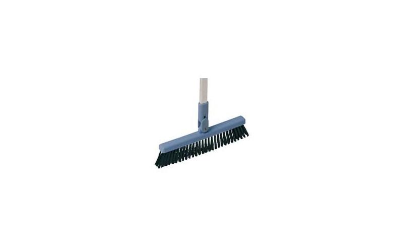 Dustpan brush met steel