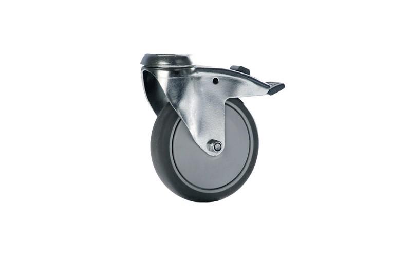 Origo wiel 125 mm met pin en rim