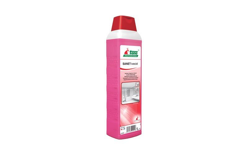 SANET ivecid Sanitärreiniger mit langanhaltendem Parfum - 1 L