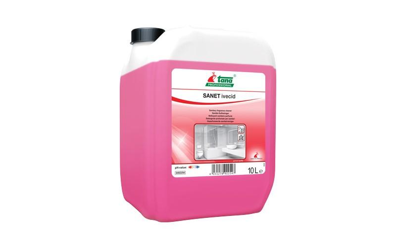 SANET ivecid Sanitärreiniger mit langanhaltendem Parfum - 10 L