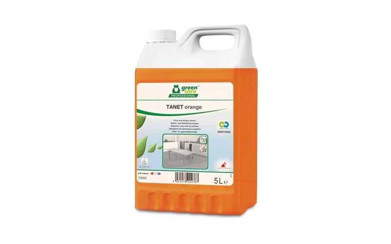 TANET orange Vloer- en oppervlakkenreiniger - 5 L
