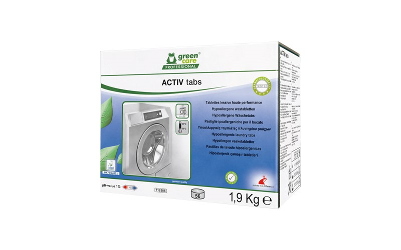 ACTIV tabs - Waschpulver tabs - 56 Tabs