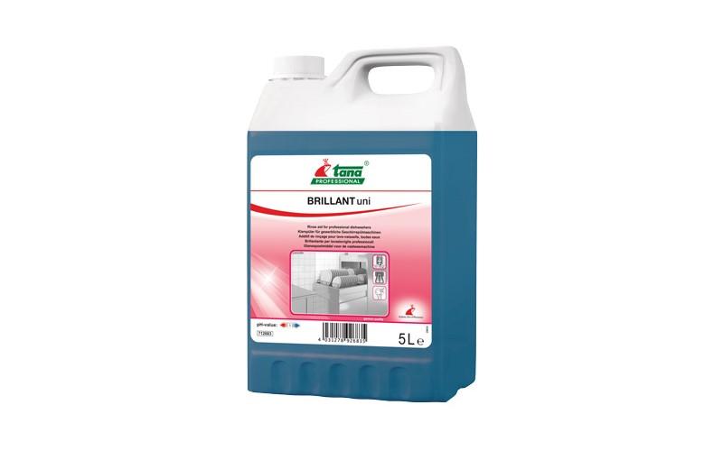 BRILLANT Uni Liquide de rinçage pour lave-vaisselle - 5 L