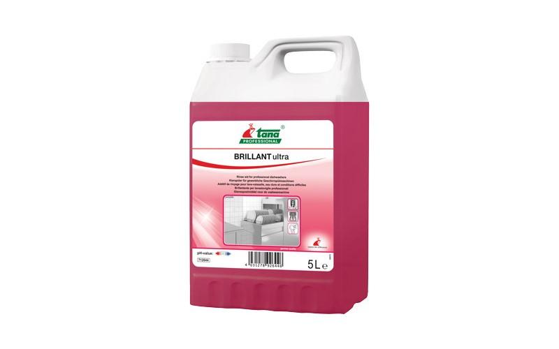 BRILLANT Ultra Nachspülmittel f. Hartes Wasser - 5 L
